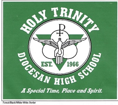 Holy Trinity Knit Throw Blanket